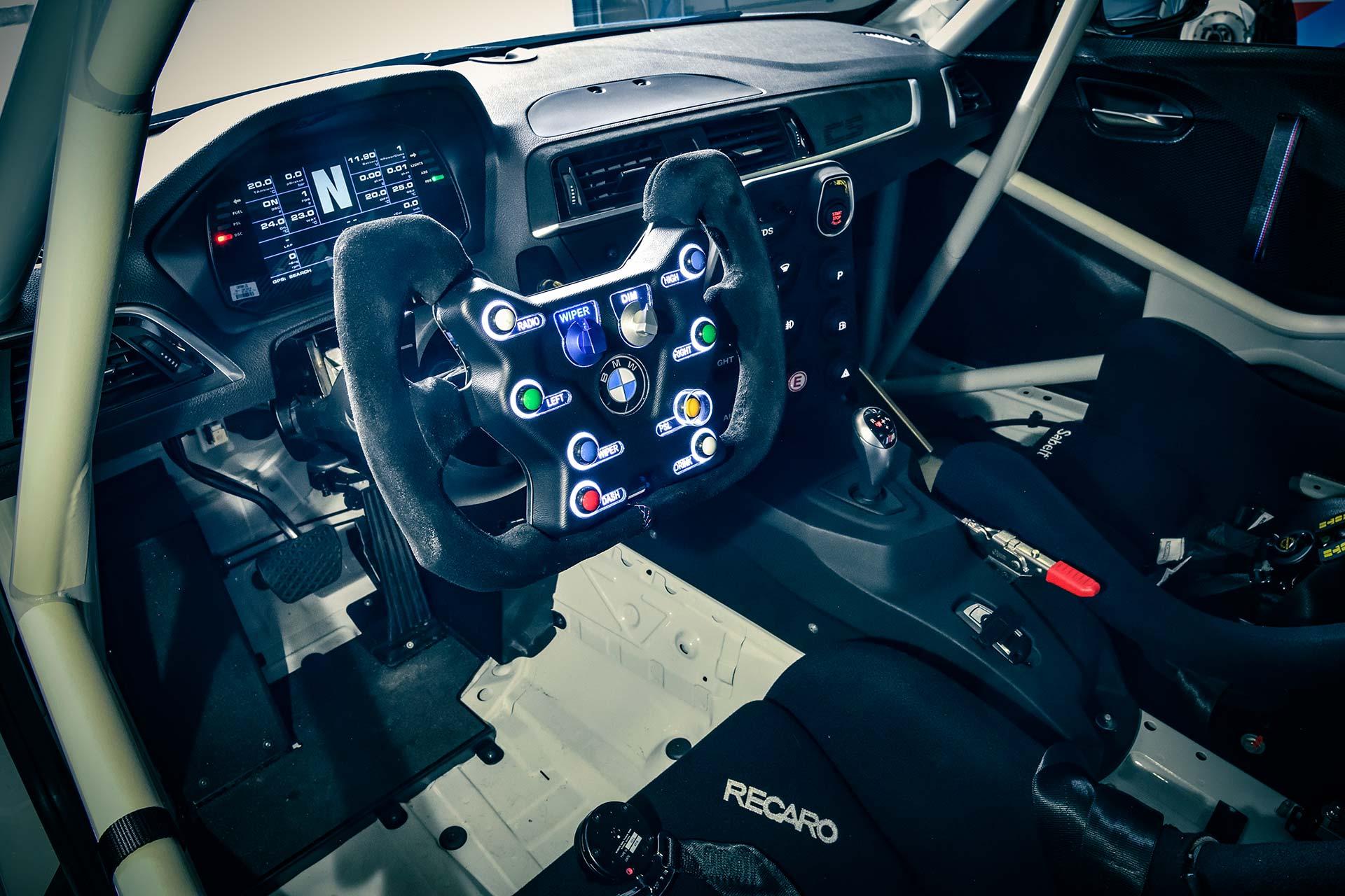 BMW M2cs Winter Cup Cockpit